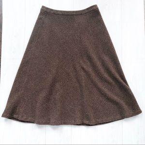 Lauren Ralph Lauren Wool Tweed Riding Skirt SZ 12